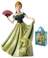 Disney Anna from Frozen de Force Collectible Figurine & Tote 2 Piece Gift Set