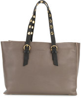 L'Autre Chose tote bag with contrasting straps