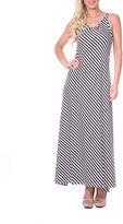 WHITE MARK White Mark Backless Sleeveless Maxi Dress