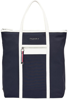 Tommy Hilfiger AW0AW08511CJM Nylon Double Handle Tote Bag