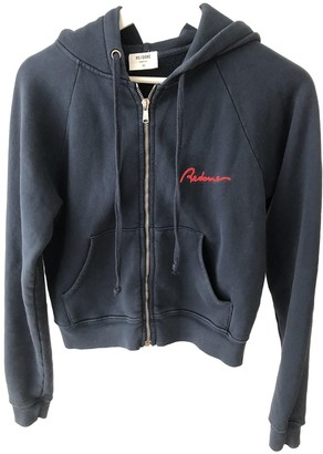 RE/DONE Blue Cotton Jacket for Women