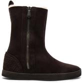 Bottega Veneta Fur Lined Suede Boots