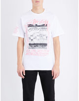 Stussy King Of Kings Cotton-jersey T-shirt