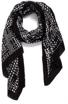Kate Spade Women's Dotty Oblong Scarf