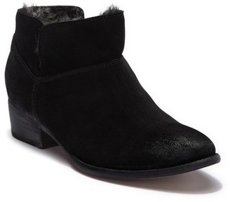Seychelles Snare Faux Fur Lined Ankle Boot