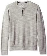 Lucky Brand Men's Welter Weight Henley Sweater