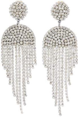 Oscar de la Renta Waterfall Crystal Earrings