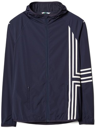 Tory Burch Graphic-T Nylon Packable Jacket