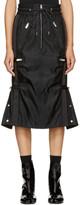 Sacai Black MA-1 Solid Skirt