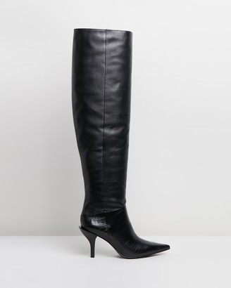 Camilla And Marc Carmine Over-Knee Boots