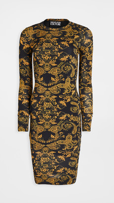 Versace Paisley Print Dress
