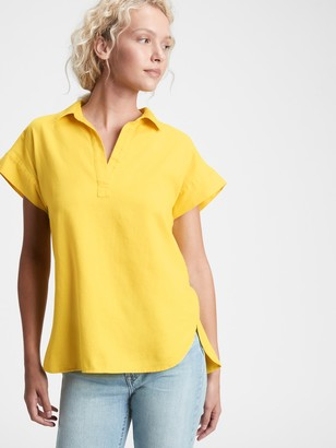 Gap Collared Popover Top