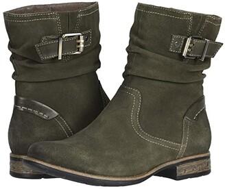 Earth Avani Butternut (Classic Olive Multi Premium Cow Suede/Soft Calf) Women's Shoes