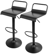 Lumisource Emery Industrial Barstools (Set of 2)