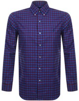 Ralph Lauren Long Sleeved Twill Shirt Blue