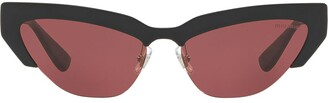 Miu Miu Razor Cat Eye Sunglasses
