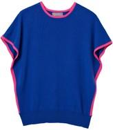 Eva Blue Cove & Pink Cashmere Jumper
