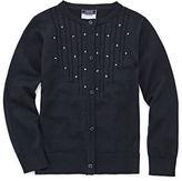 IZOD EXCLUSIVE Izod Exclusive Round Neck Long Sleeve Knit Cardigan - Preschool