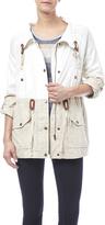 Blu Pepper Woven Spring Jacket