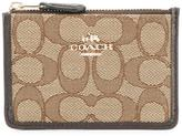 Coach monogram print purse - women - Cotton/Polyester - One Size