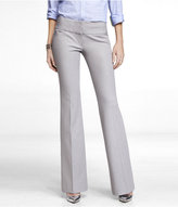Express Studio Stretch Wide Waistband Flare Editor Pant