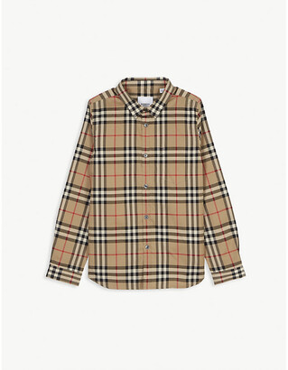 Burberry Vintage check cotton shirt 3-14 years