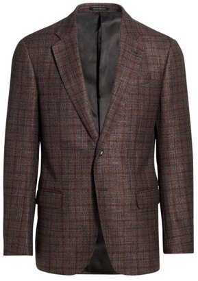 Emporio Armani Multicolor Windowpane Sportcoat