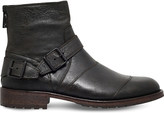 Belstaff Trailmaster leather ankle boots