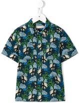 Stella McCartney Hawaiian print Rowan shirt - kids - Cotton - 4 yrs
