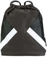 Neil Barrett drawstring backpack
