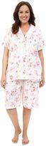 Lauren Ralph Lauren Plus Size Knit Bermuda PJ Set