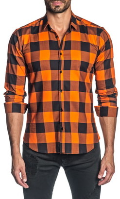 Jared Lang Slim Fit Button-Up Shirt