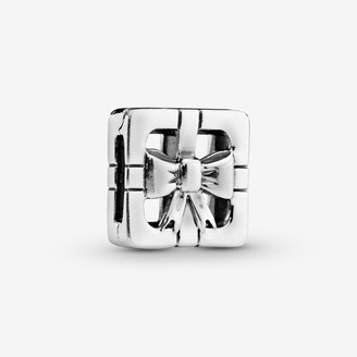 Pandora Openwork Gift Box Clip Charm