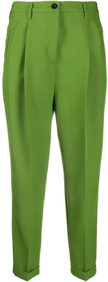 Alberto Biani High-Waisted Cropped Trousers