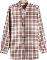 Raf Simons Printed Shirt with Linen and Wool