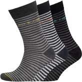 Jack and Jones Mens Three Pack Socks Multi