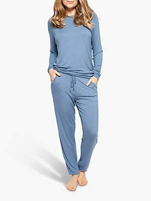 Cyberjammies Harper Jersey Pyjama Set, Blue