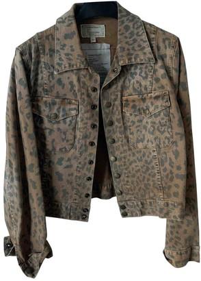 Current/Elliott Current Elliott Brown Cotton Jackets