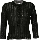 Chanel Pre Owned long sleeve knitted cardigan