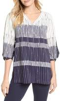 Chaus Ink Lines Blouse