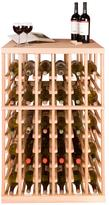 Vinotemp Half-Height Double-Deep Wine Rack Module with Tabletop - 108 Bottles