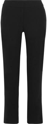 Iris & Ink Madison Crepe Straight-leg Pants