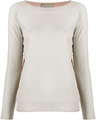 D-Exterior Long-Sleeve Knitted Top