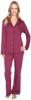 DKNY Long Sleeve Top & Pants PJ Set
