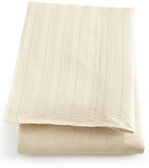 Isabella Collection Queen Monfort Herringbone Duvet Cover