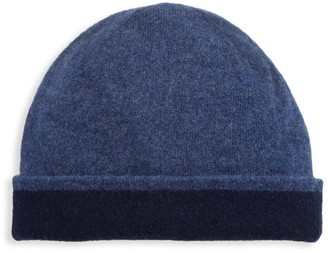 Saks Fifth Avenue Reversible Cashmere Beanie