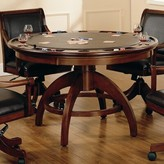"Hillsdale 52"" Palm Springs Poker Table Furniture"