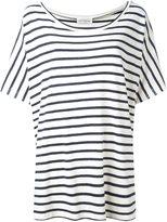 Faith Connexion boxy striped T-shirt
