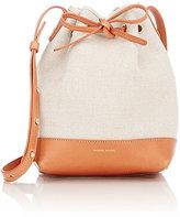 Mansur Gavriel Women's Mini-Bucket Bag-CREAM