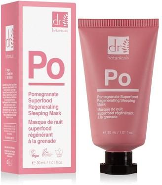 Dr Botanicals Dr Botanicasls Pomegranate Superfood Regenerating Hydrating Sleeping Mask 30Ml